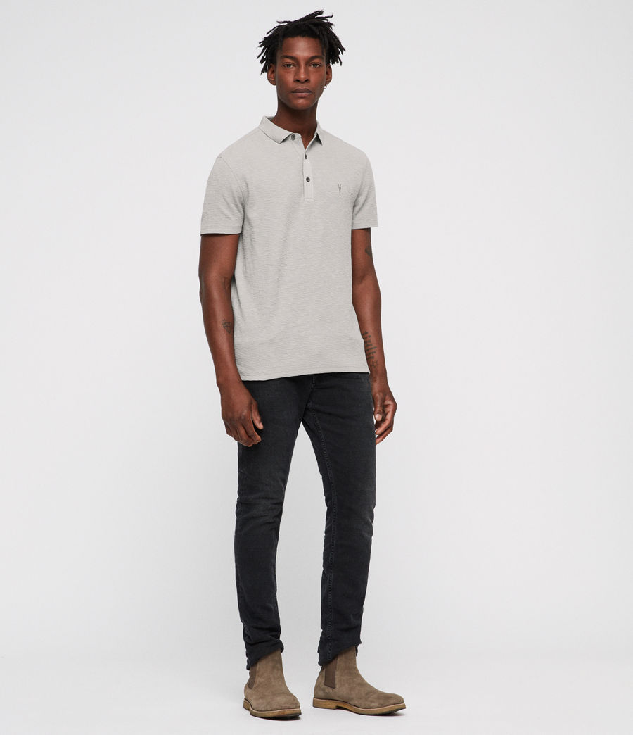 Men's Clash Polo Shirt (tin_grey) - Image 3