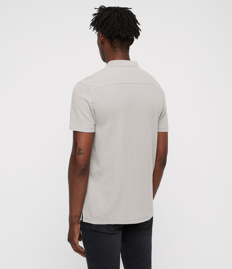 Men's Clash Polo Shirt (tin_grey) - Image 5