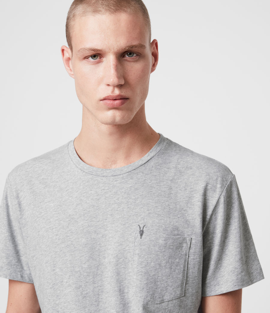 Men's Arch Crew T-Shirt (chalk_white) - Image 2