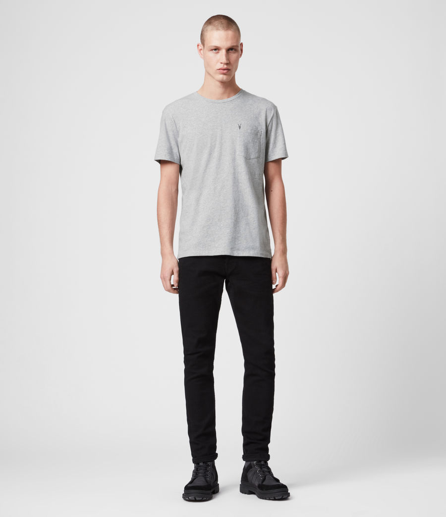 Men's Arch Crew T-Shirt (chalk_white) - Image 3