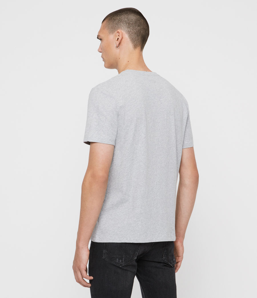 Men's Arch Crew T-Shirt (chalk_white) - Image 5