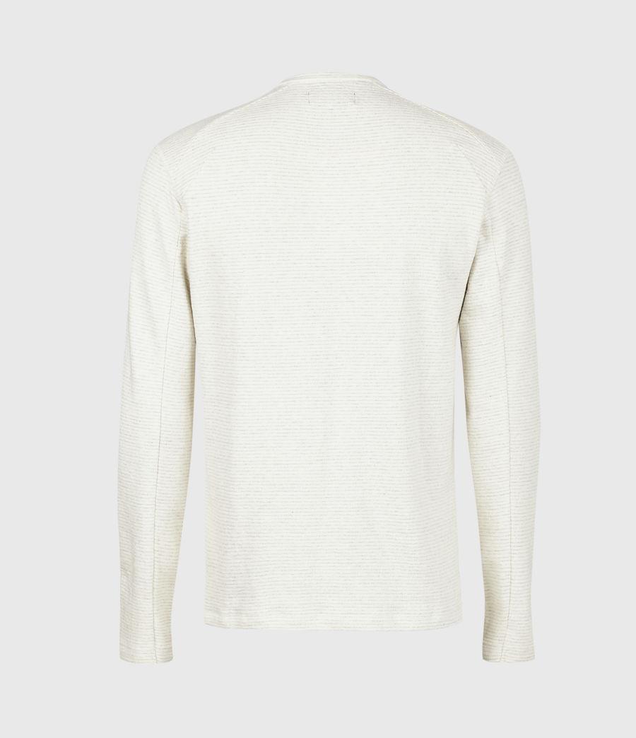 Herren Bjorn Henley Langarmshirt (ecru_white) - Image 3