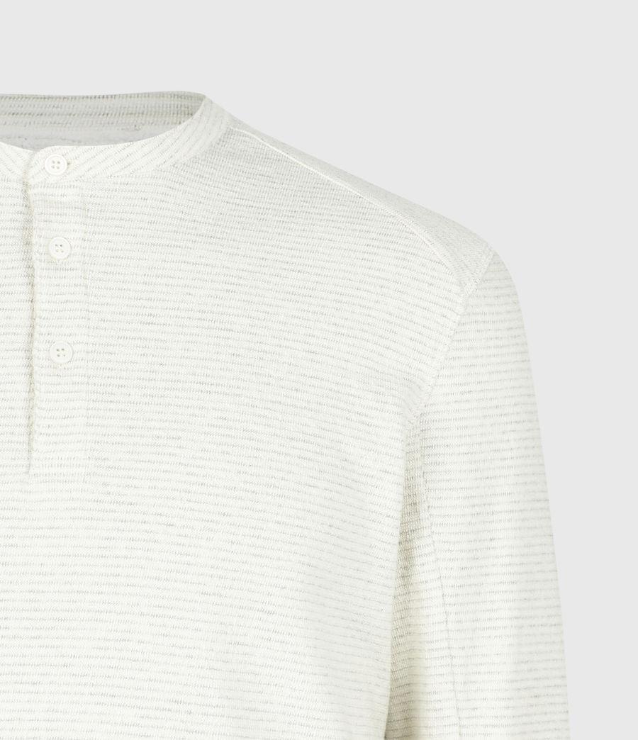 Herren Bjorn Henley Langarmshirt (ecru_white) - Image 5