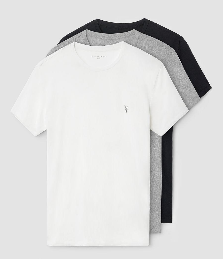 Hombre Pack de 3 camisetas Tonic (chlk_jetblk_grymrl) - Image 1