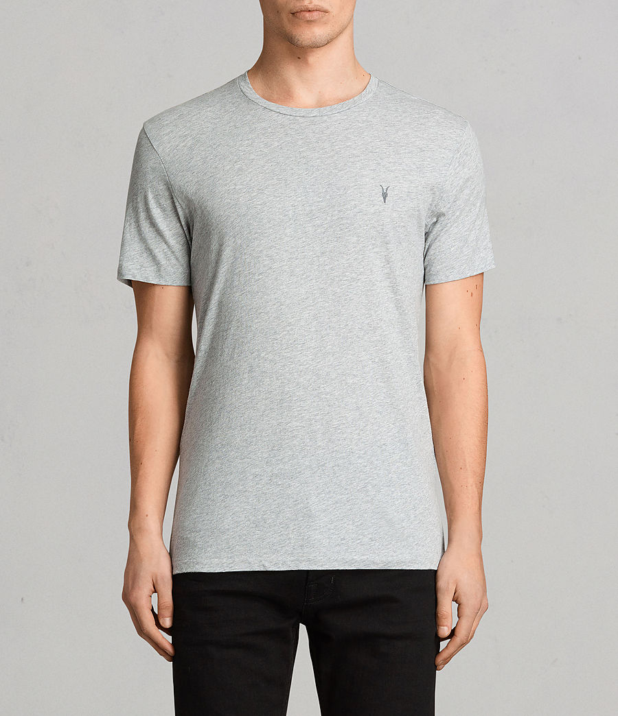 Men's Tonic Crew T-Shirt 3 Pack (chalk_black_grey) - Image 4