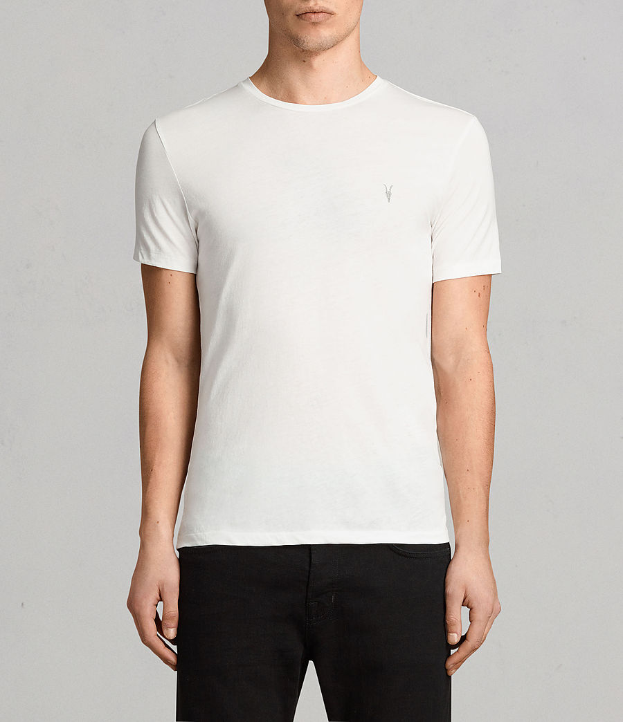 Hombres Pack de 3 camisetas Tonic (white_black_blue) - Image 3