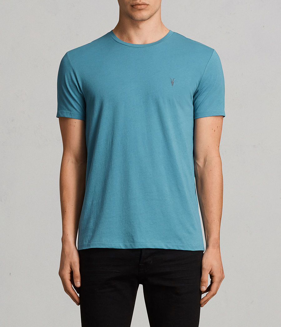 Men's Tonic Crew T-Shirt 3 Pack (teal_white_black) - Image 2