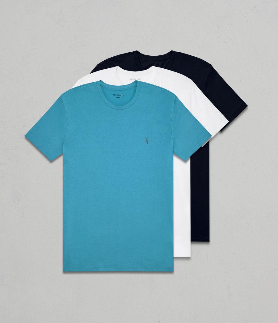 Men's Tonic Crew T-Shirt 3 Pack (blue_chalk_ink) - Image 1