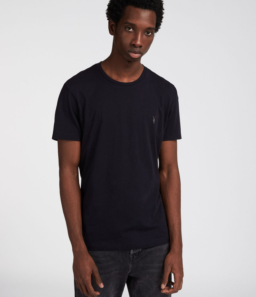 Men's Tonic Crew T-Shirt 3 Pack (blue_chalk_ink) - Image 4