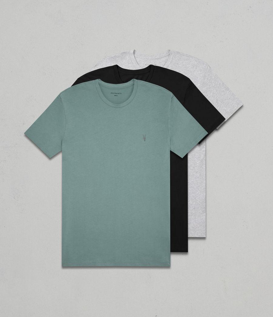 Hombres Pack de 3 camisetas Tonic (larch_grey_black) - Image 1