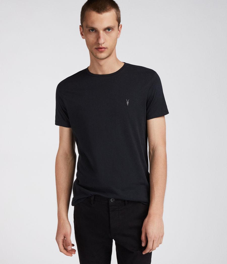 Herren Dreierpack Tonic T-Shirts (larch_grey_black) - Image 4
