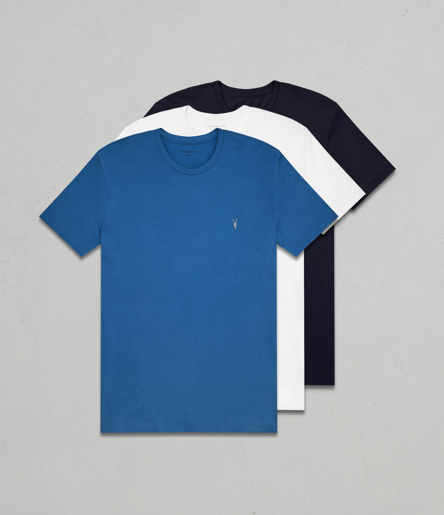 Hombres Pack de 3 camisetas Tonic (aqua_navy_optic) - Image 1