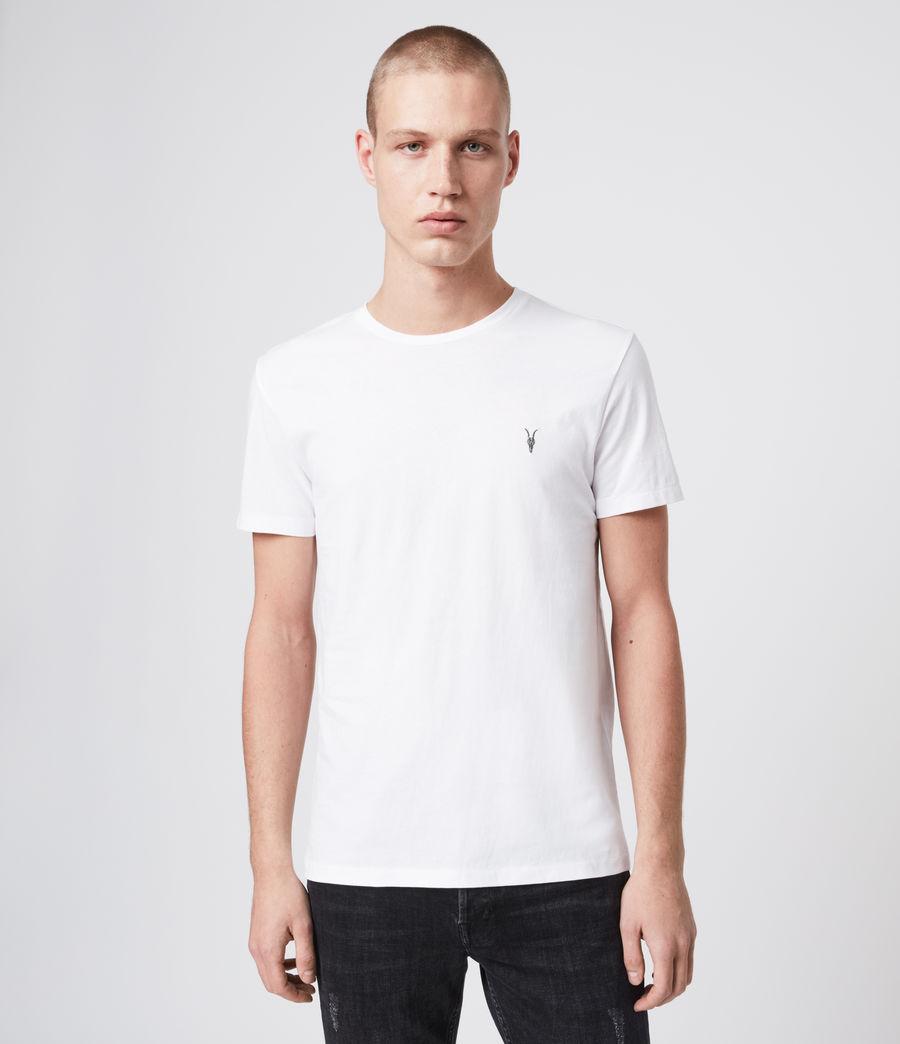 Men's Tonic Crew 3 Pack T-Shirts (white_vista_blue) - Image 4