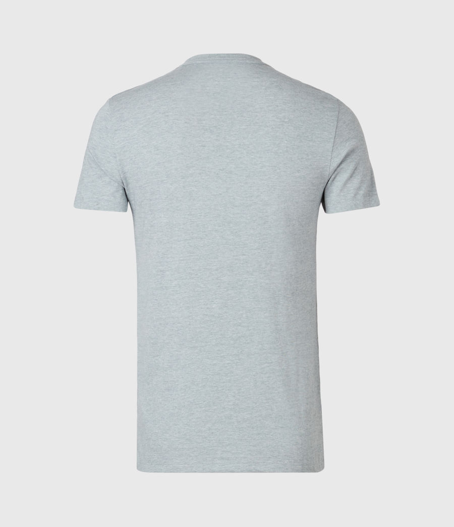 Uomo Tonic Crew 3 Pack T-Shirts (grey_grey_green) - Image 7