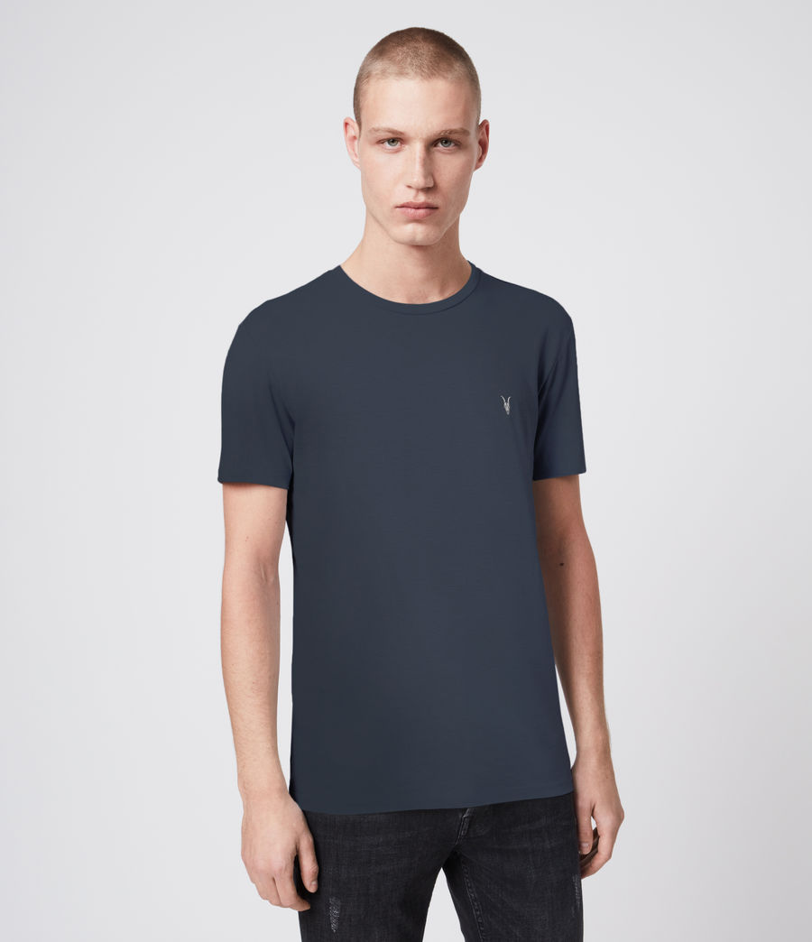 Mens Tonic Crew 3 Pack T-Shirts (blue_taupe_white) - Image 2