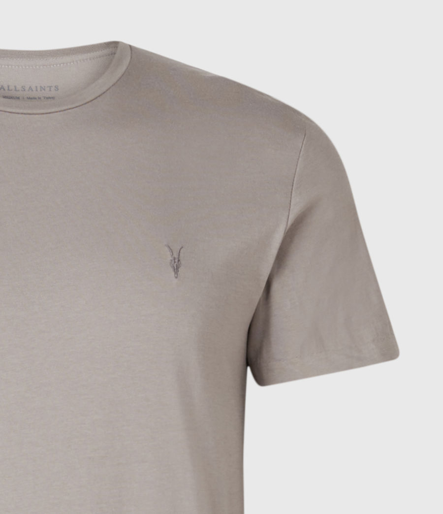 Mens Tonic Crew 3 Pack T-Shirts (blue_taupe_white) - Image 7