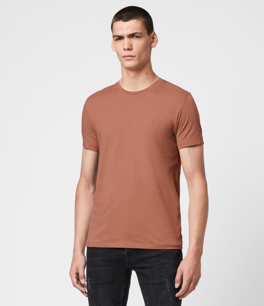 Men's Tonic Crew 3 Pack T-Shirts (blk_flint_grnt_red) - Image 3