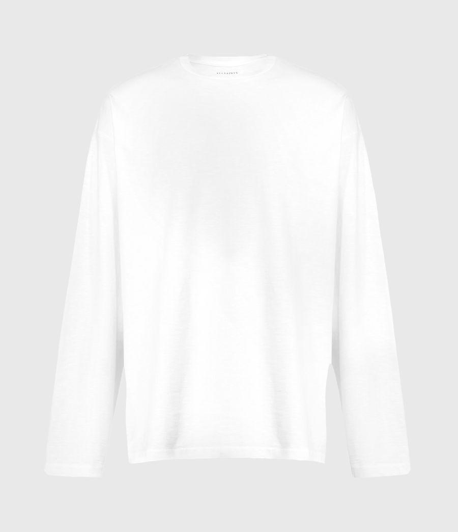 Herren Riki Crew T-Shirt (optic_white) - Image 2