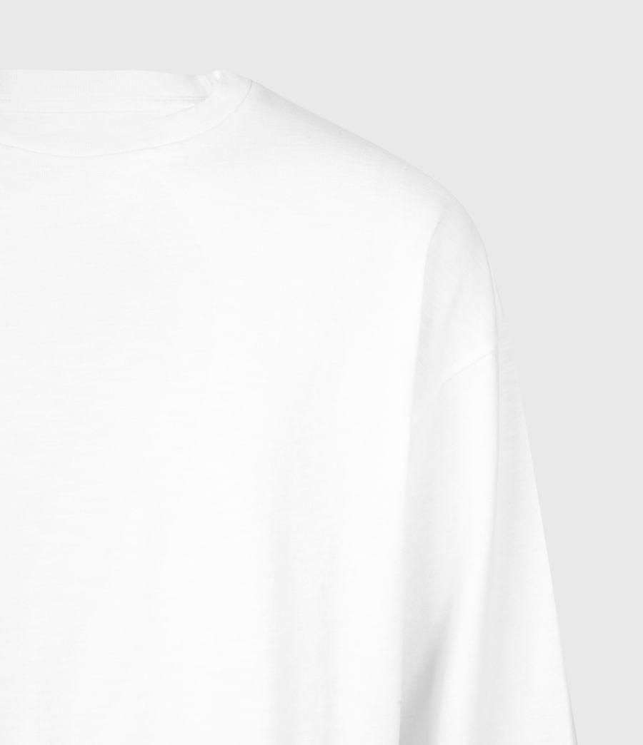 Herren Riki Crew T-Shirt (optic_white) - Image 5