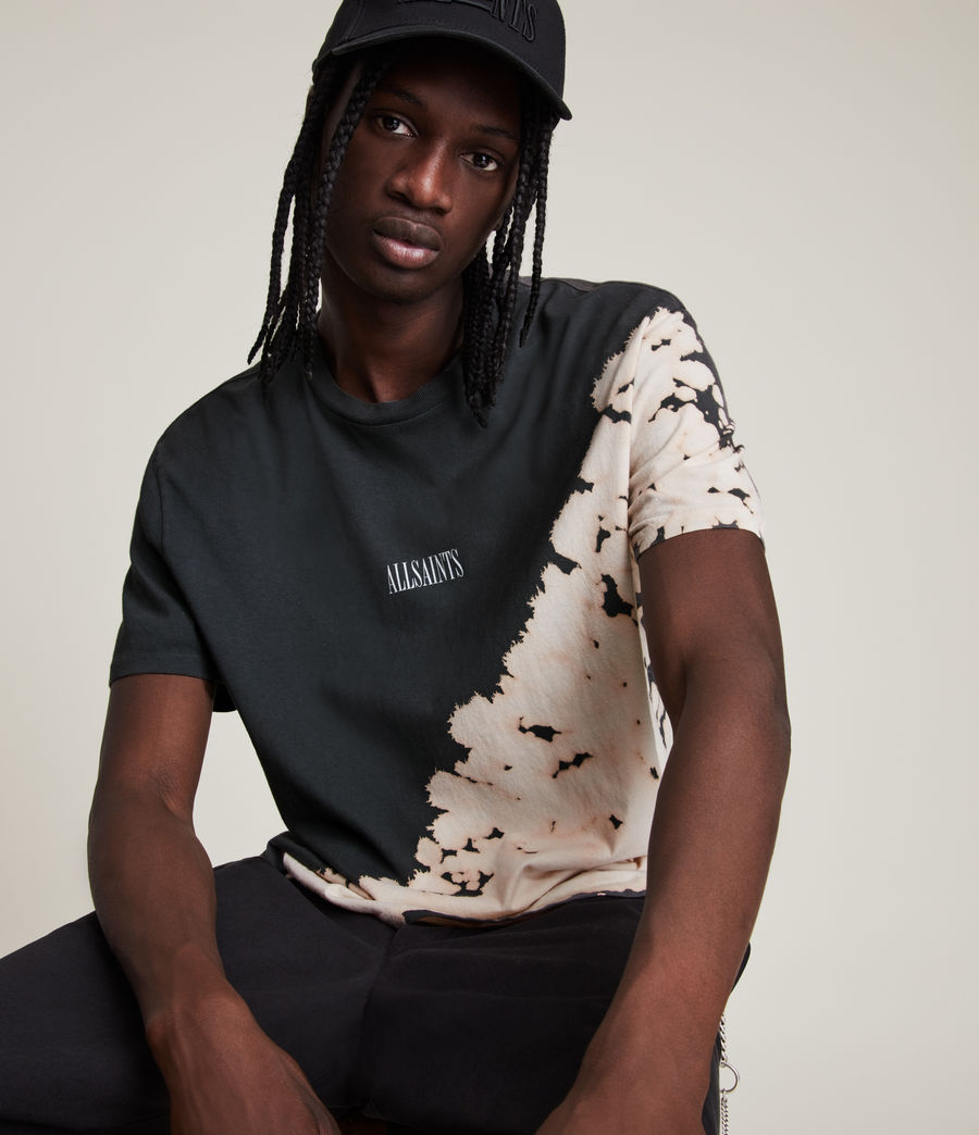 Men's Jaxx Crew T-Shirt (washed_black) - Image 2