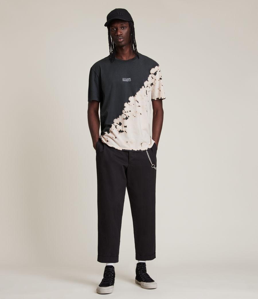Men's Jaxx Crew T-Shirt (washed_black) - Image 3