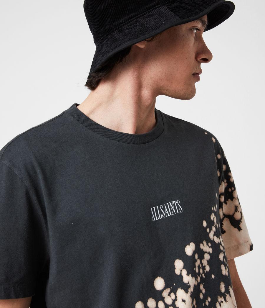 Men's Jaxx Crew T-Shirt (washed_black) - Image 7