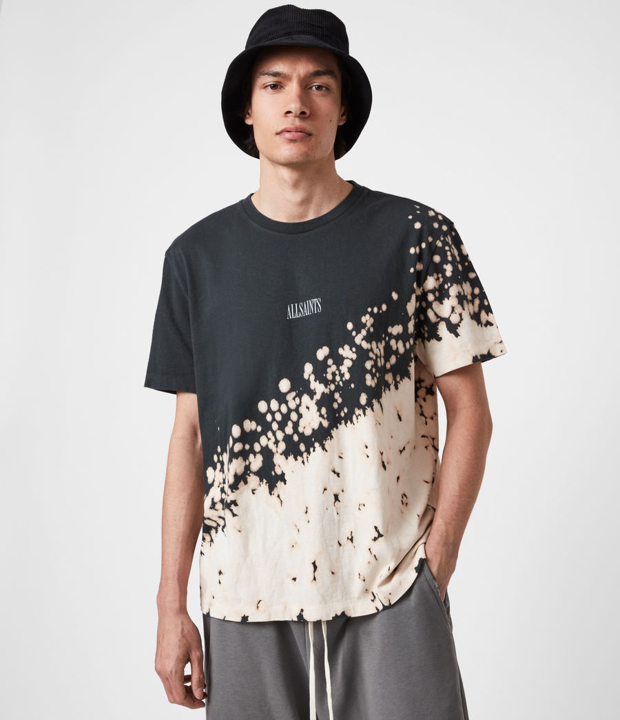 Men's Jaxx Crew T-Shirt (washed_black) - Image 8