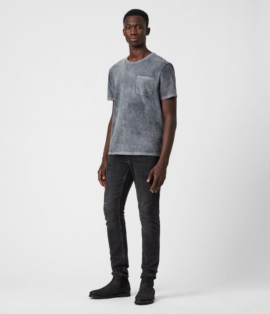 Herren Park T-Shirt (washed_black) - Image 4