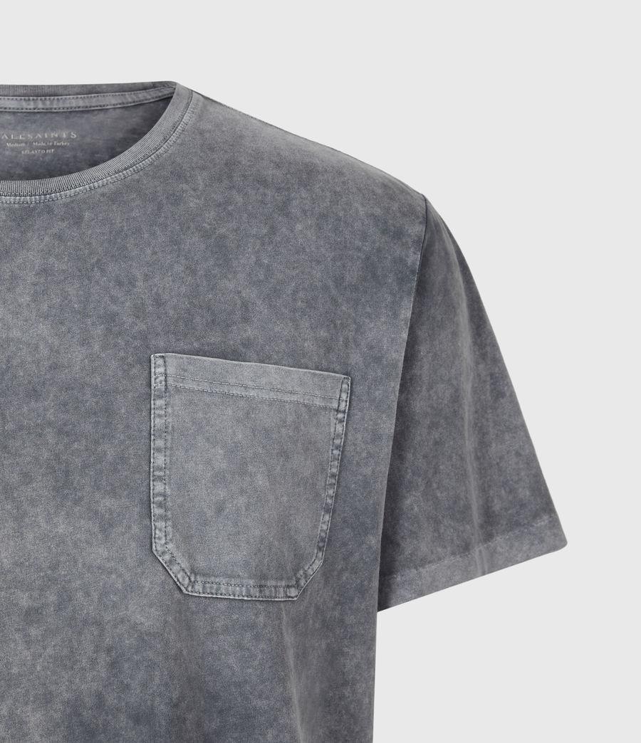 Herren Park T-Shirt (washed_black) - Image 5