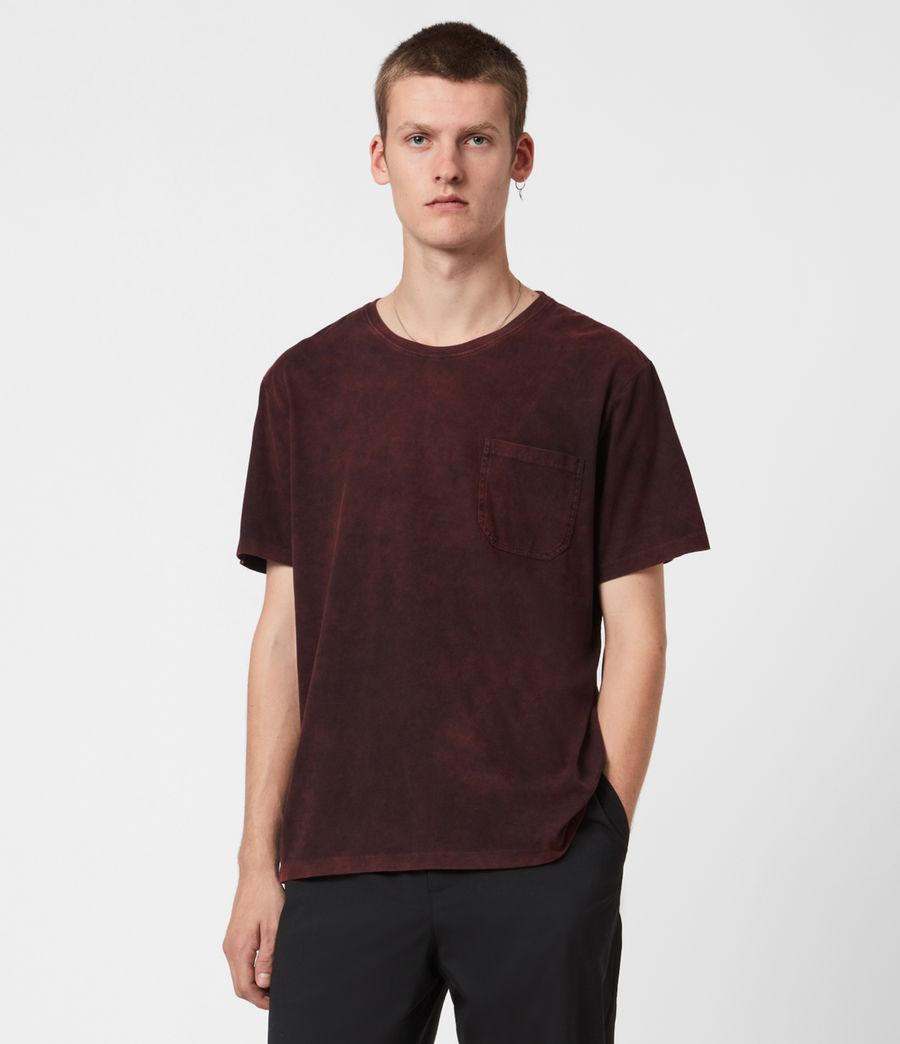 Herren Park Crew T-Shirt (oxblood_red) - Image 1