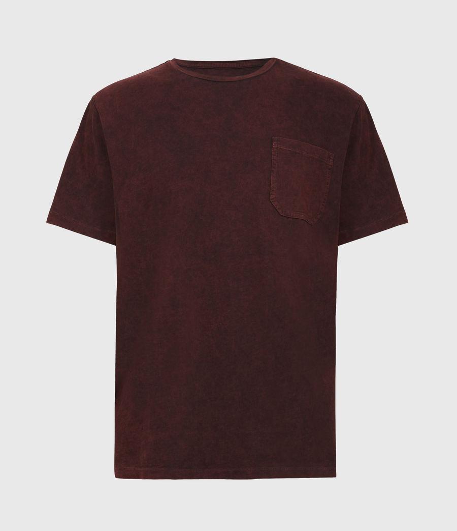 Herren Park Crew T-Shirt (oxblood_red) - Image 2
