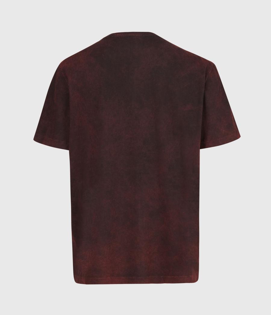 Herren Park Crew T-Shirt (oxblood_red) - Image 3