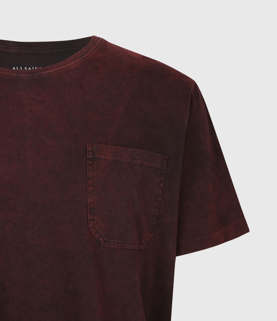 Herren Park Crew T-Shirt (oxblood_red) - Image 5