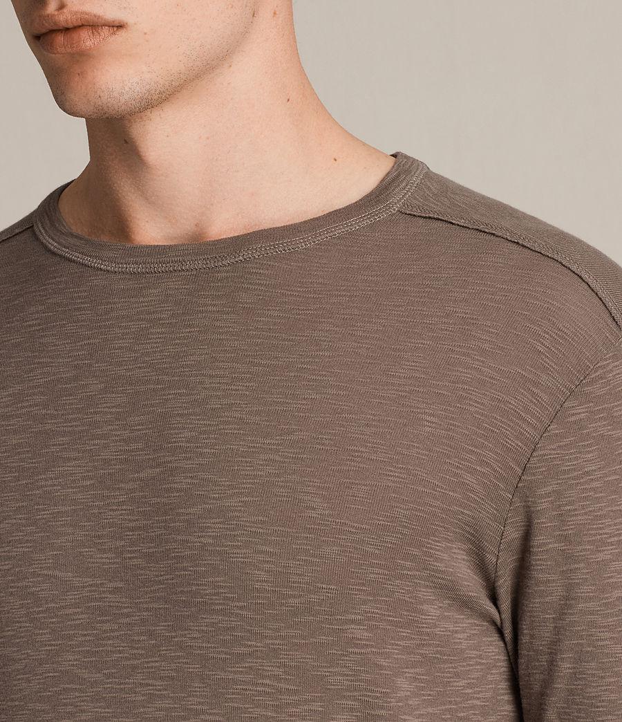 Hombre Camiseta de manga larga Laoter (washed_khaki) - Image 2