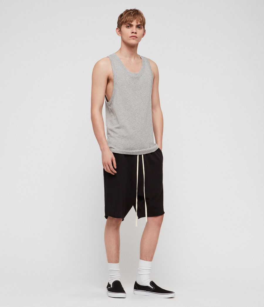 Mens Nixie Tank (grey_marl) - Image 3