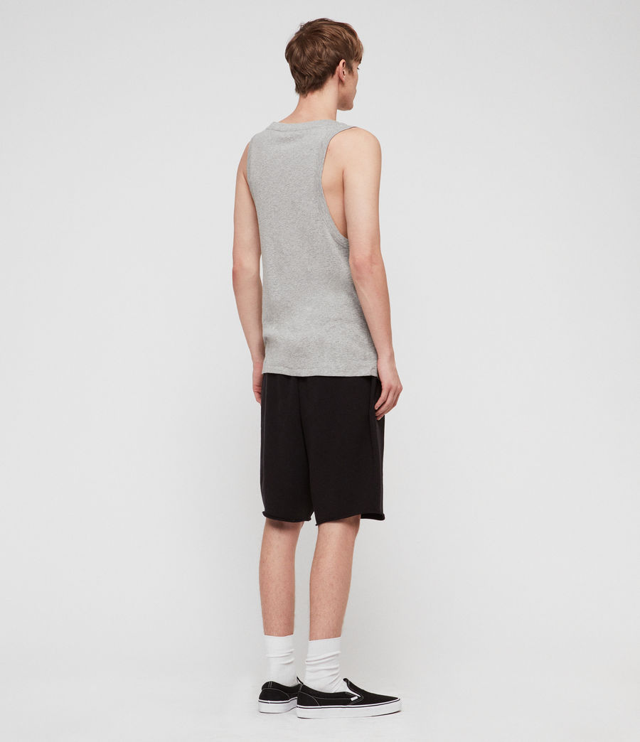 Mens Nixie Tank (grey_marl) - Image 5