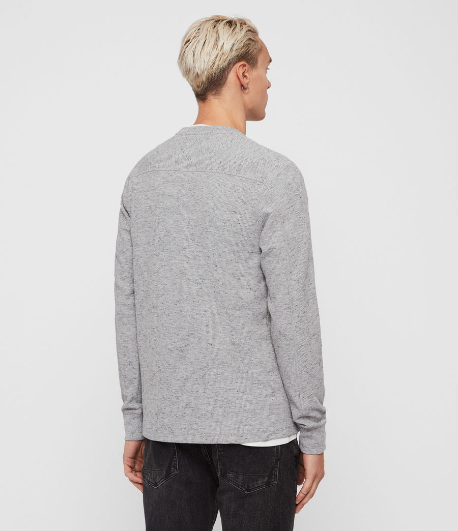 Mens Maris Crew T-Shirt (grey_marl) - Image 4