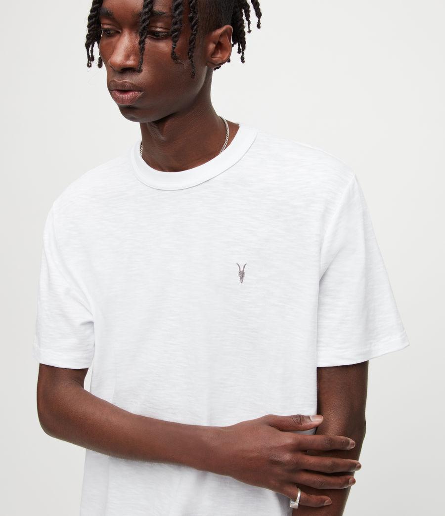 Mens Dexter Crew T-Shirt (optic_white) - Image 2