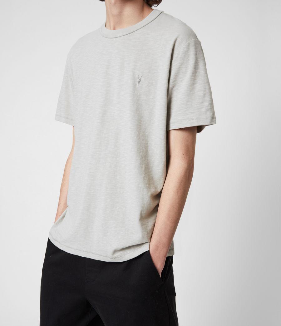 Mens Dexter Short Sleeve Crew T-Shirt (cloud_grey) - Image 4