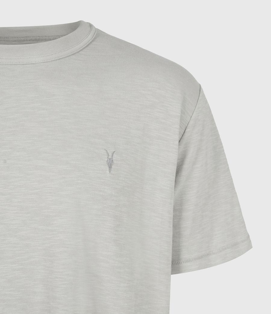 Mens Dexter Short Sleeve Crew T-Shirt (cloud_grey) - Image 5