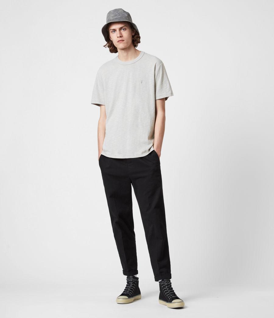 Mens Dexter Short Sleeve Crew T-Shirt (cloud_grey) - Image 6