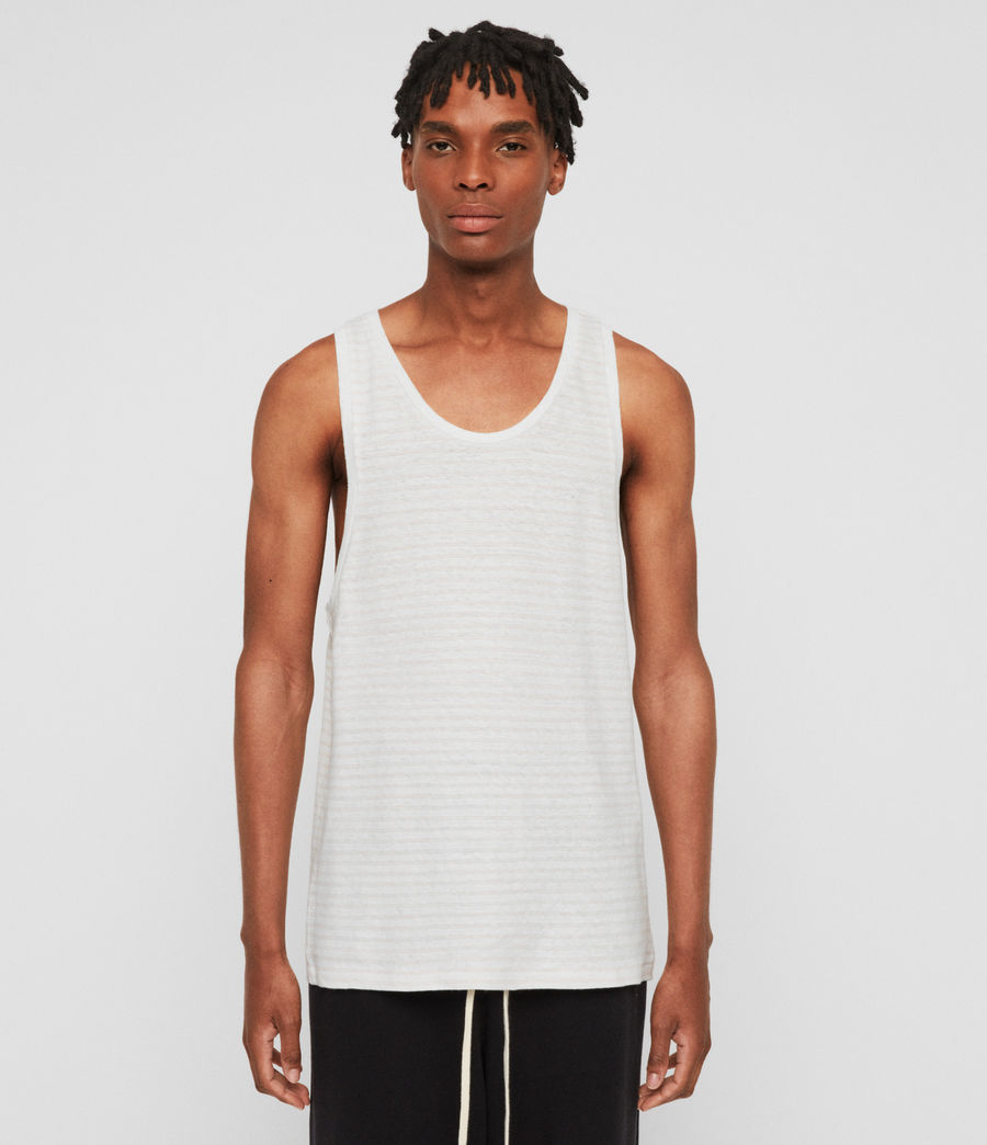 Men's Adrian Vest (chalk_white_pink) - Image 1