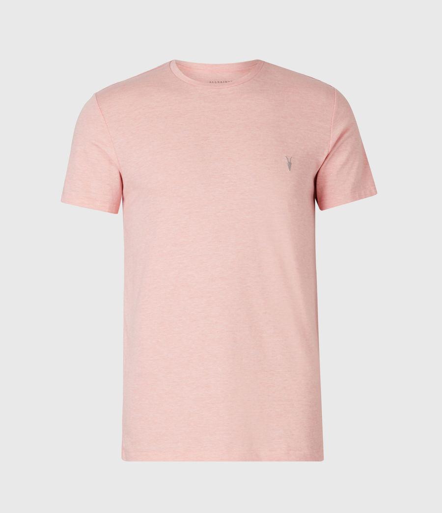 Herren Tonic Crew T-Shirt (panama_pink_marl) - Image 2