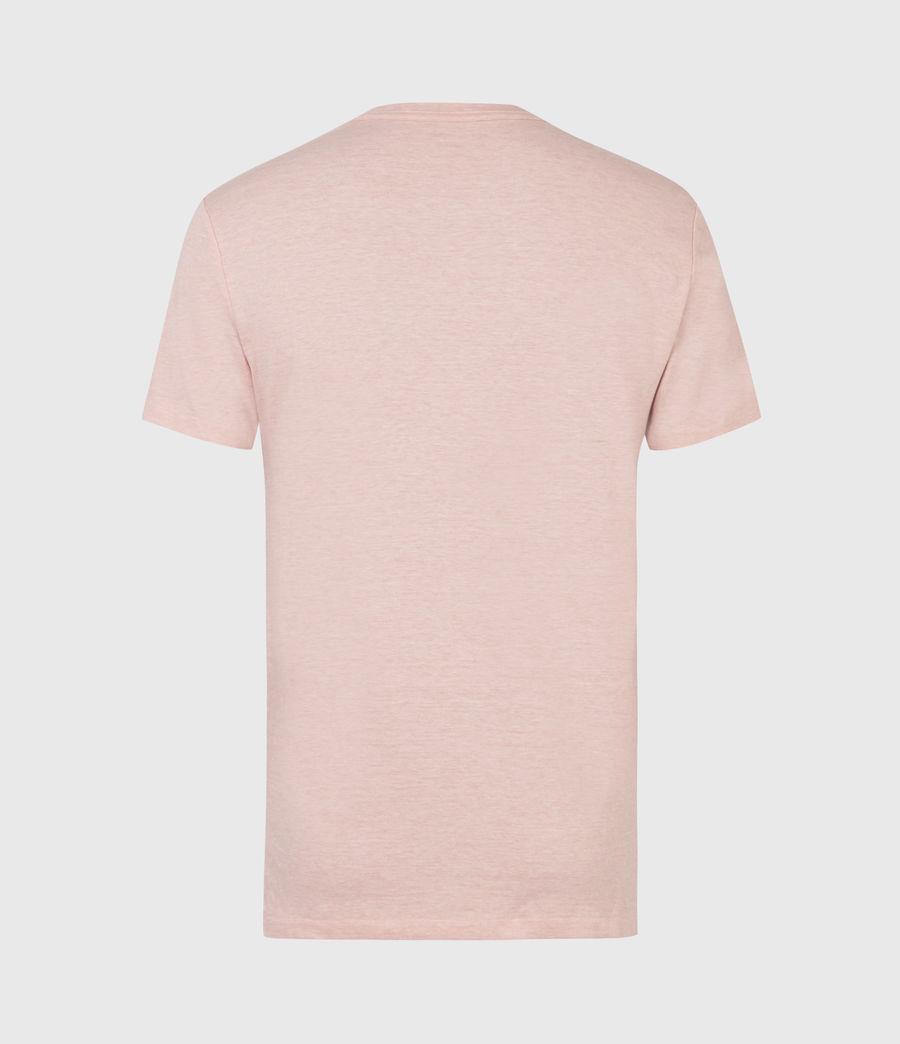 Herren Tonic Crew T-Shirt (panama_pink_marl) - Image 3