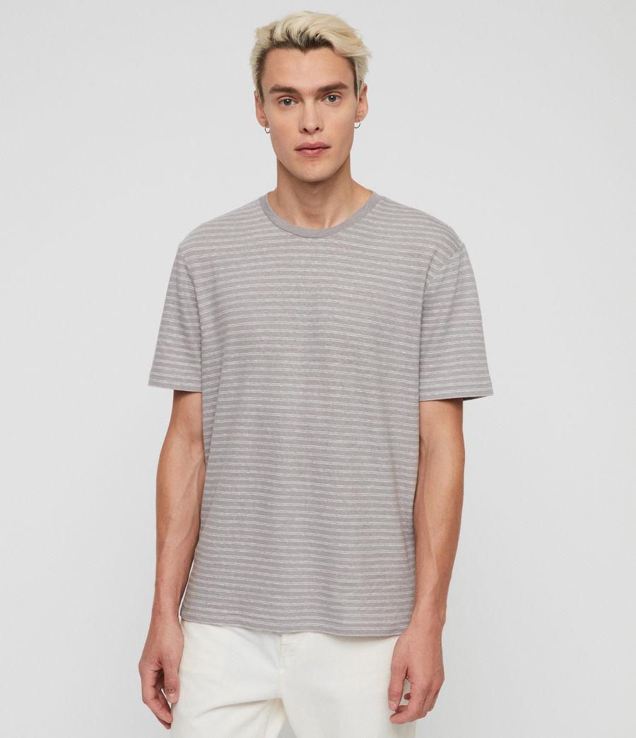 Herren Adrian T-Shirt (blue_chalk_white) - Image 1