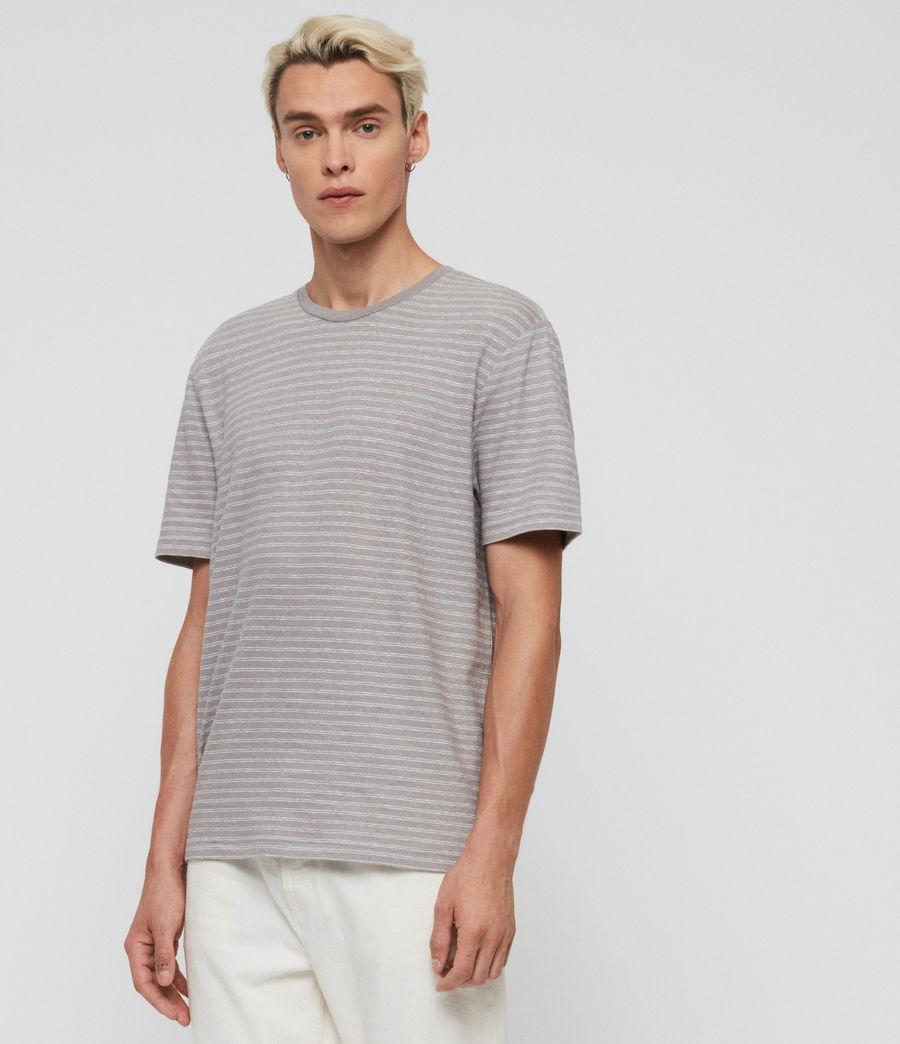 Herren Adrian T-Shirt (blue_chalk_white) - Image 2