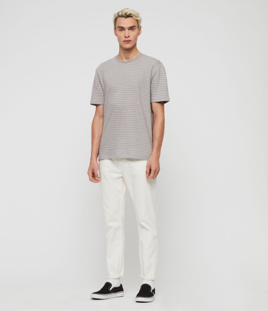 Herren Adrian T-Shirt (blue_chalk_white) - Image 3
