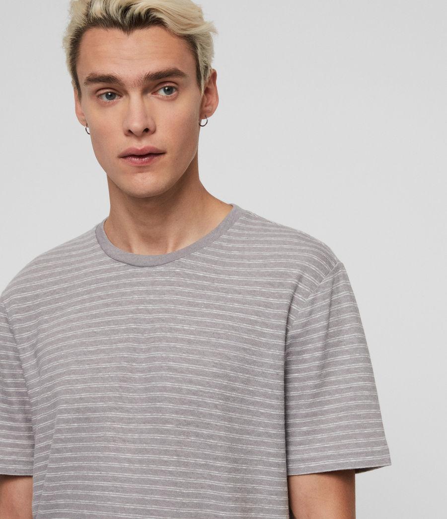 Herren Adrian T-Shirt (blue_chalk_white) - Image 4