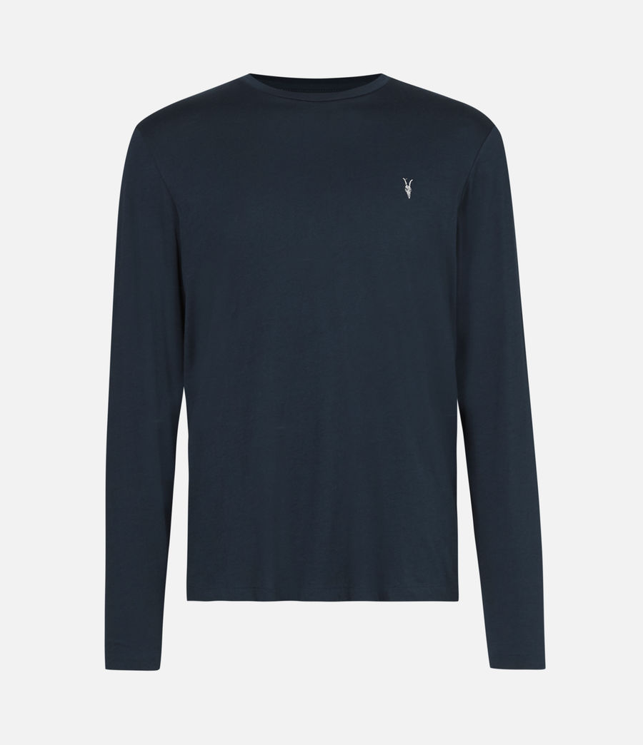 Mens Tonic Long Sleeve Crew T-Shirt (sapphire_blue) - Image 2