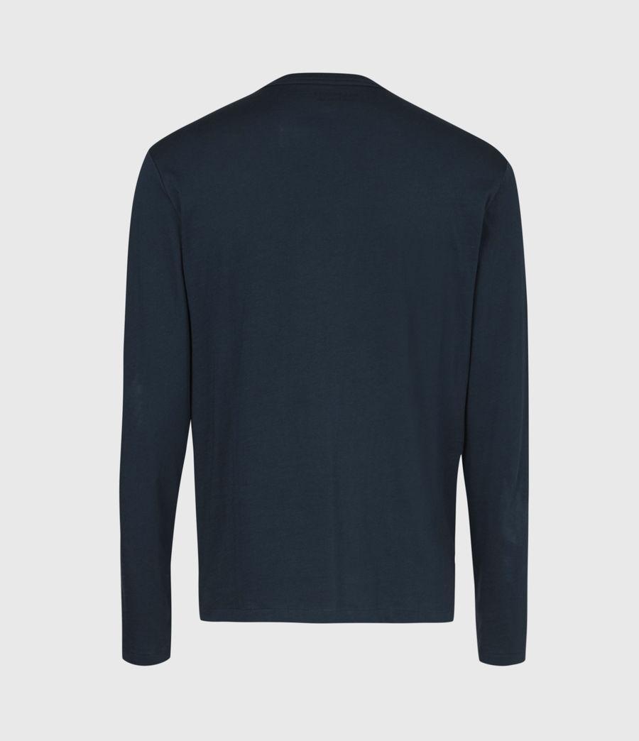 Mens Tonic Long Sleeve Crew T-Shirt (sapphire_blue) - Image 3